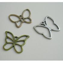 Set De 3 Dijes De Mariposas Nuevos