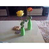 Floreros Ecoamigables Con Material Reciclado :)