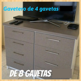 Gavetero De 8 Gavetas
