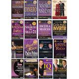 Mega Colección De 16 Libros Del Padre Rico Padre Pobre