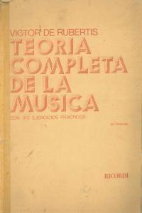 Victor de rubertis teoria completa de la musica
