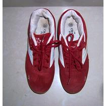 Zapatos Rojos Comprados En Europa Talla 36 Usados