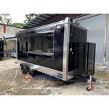 Hermoso Remolque Tipo Food Truck 15ft. Nuevo