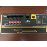 4ch Power/video/data Combiner Hub Mid Pvd-504j
