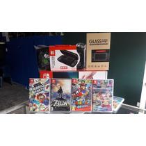 Promoción Navidad Nintendo Switch 4 Juegos Y Sorpresas