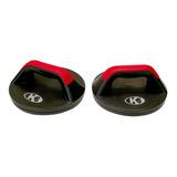 Base Soporte Para Flexiones Giratoria Push Up K6 - Negro