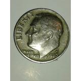 Moneda De One Dime De Eua Año 1980