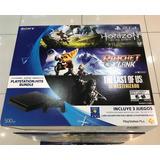 Playstation 4 Nuevo Sellado Con 3 Juegos Exclusivos Nuevos