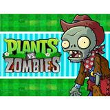Kit Imprimible Plantas Vs Zombies Candy Bar Tarjetas Invi #1
