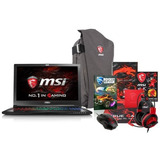Msi Gs63 Stealth-062 15.6  Lcd Notebook Core I7 2.80ghz 16gb