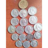 Monedas De Diferentes Años De Estados Unidos