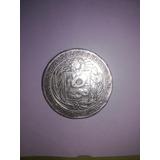 Moneda Antigua Peruana Para Colección