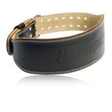 Cinturón Para Levantar Pesas Cuero Harbinger L 6 Pulg