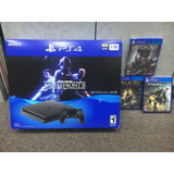 Sony Playstation 4 Slim 1 Tb De Star Wars