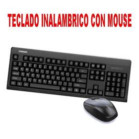 Juego De Teclado Y Mouse Inalámbricos Impermeables Para Jueg