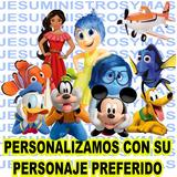 Kit Fiesta Imprimible Personalizado Disney Peliculas