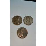 3 Monedas De 1 Centavo