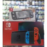 Nintendo Switch 2019 Juegos Y Estuche