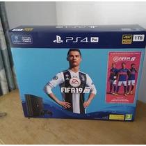 Sony Playstation Ps4 Pro 1tb Consola Con Fifa