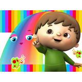 Kit Imprimible Charlie Los Numeros Diseña Tarjeta Baby Tv #1