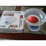 Balanza/peso Digital Mh Ph129c De Cocina 5kg X 1g Con Bol