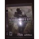 Juego Calle Duty Moderna Warfare 4