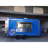 Food Truck 15pies Trailers, Remolques, Kiosco, Hot Dog, Hamb