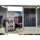 Bocina Con Panel Solar Recargable Ch 283ls  4 X 50 C/u