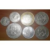 Lote De 7 Monedas Extranjeras Ver Detalle