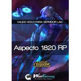 Aspecto (skins) 1820 Rp Servidor Lan