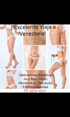 Operaciones Estética En Venezuela A !!bajos Costos!!