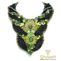 Collar Exotico Shibori Silk, Ventas Al Mayor