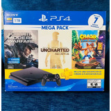 Playstation 4 Bundle + 2 Control+ Realidad Virtual, Nuevos.