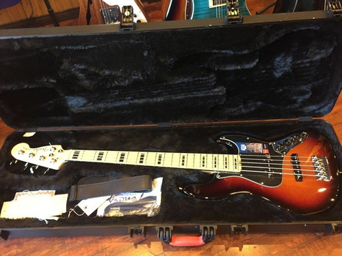 Fender American Deluxe 5 String Jazz Bass Guitar