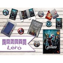 Kit Imprimible Avengers Los Vengadores Candy Bar Decoracion