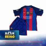 Conjunto Swater /suater Y Short Real Madrid Barcelona