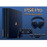 Ps4 Pro 500 Million Edicion Limitada 2tb