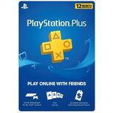 Playstation Plus: Membresía De 12 Meses [código Digital]