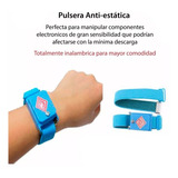 Pulsera Antiestatica Inalambrica Sin Cables Electronica