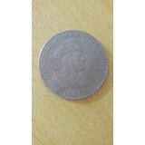 Moneda De 1 Balboa Omar Torrijos H. 1984