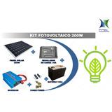 Kit Solar De 200w