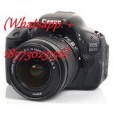 Digital Camera Canon Eos 600d Slr 18-55 Is Ii 55-250 Is Ii