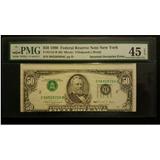 Usa 1990 $ 50 Billetes Error