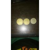 Son Monedas De 100 Y 50 Pesos Colombianas Antiguas 93/95