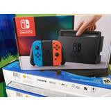 Nintendo Switch En Combo 4 Juegos Y Estuche