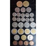 Monedas Antiguas. De 1940 Y Mas Salvador Y Estados Unidos