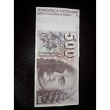 Billete De 500 Y De 10 Franco Suizo