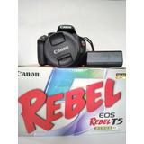 Vendo Camara Canon Eos Rebel T5
