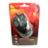 Mouse Ps2 Optico Resolucion 800 Dpi Mb-6140  19-01-1032
