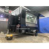 Remolque Tipo Food Truck 10ft. Modelo Americano Hot Dog Hamb